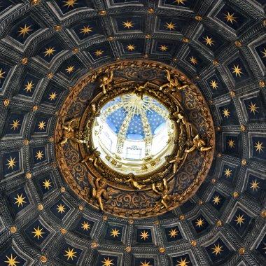 """Картина, постер, плакат, фотообои """"Дуомо ди Сиена потолок деталь"""", артикул 7166622"""