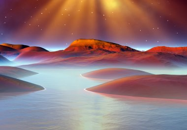 Planet Of Souls - Alien Landscape 04