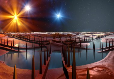 Planet Of Souls - Alien Landscape 05