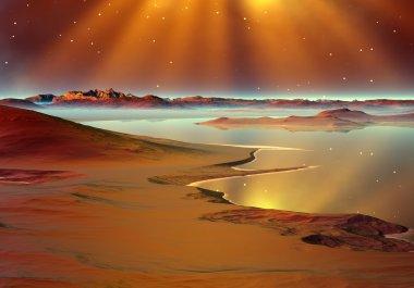 Planet Of Souls - Alien Landscape 06