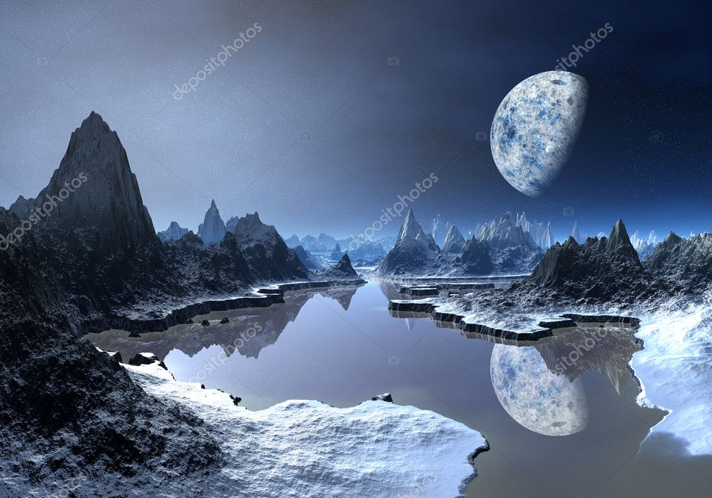 Ice Moon - Alien Planet part 1