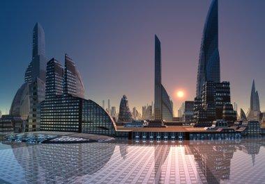 Anea - Modern City Skyline 03