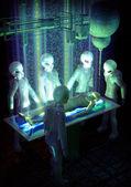 Experimenty únosech UFO
