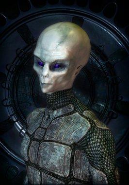 Ufo alien grey