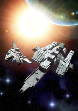 Spacehip carrier