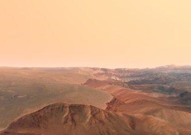Mars Tithonium Chasma