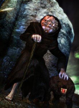 Monster monk