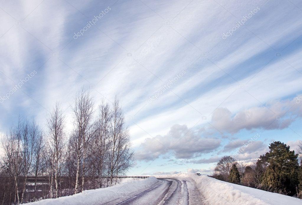 Sowy dirt road