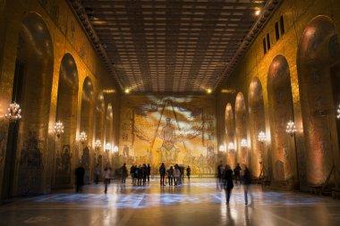 Golden Hall of Stockholm City hall