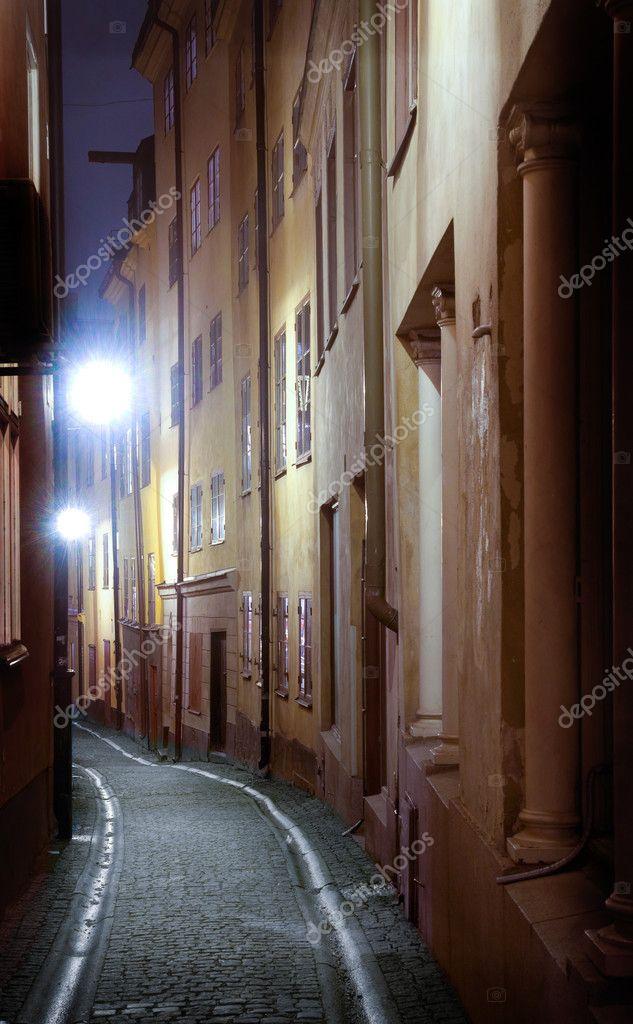 Фотообои Street in the City