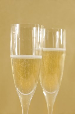 Two champagne flute