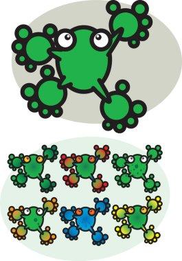 Cartoon Frogs