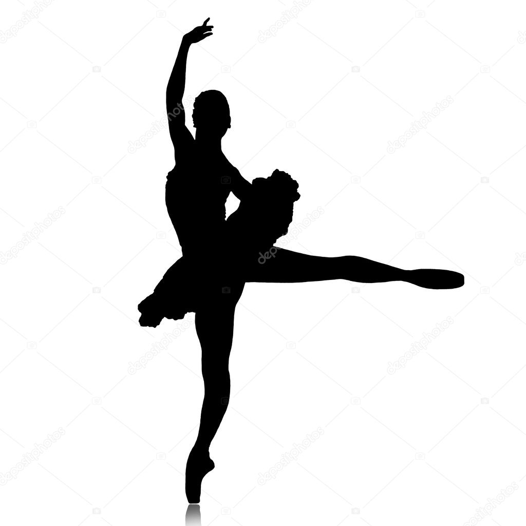 ballet dancer silhouette stock vector  u00a9 vladimirdelic dancer silhouette vector file free vector dance silhouette