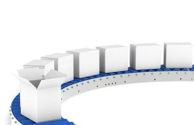 Conveyor Belt, Front View