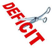 snížení deficitu