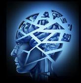 poškozené lidský mozek
