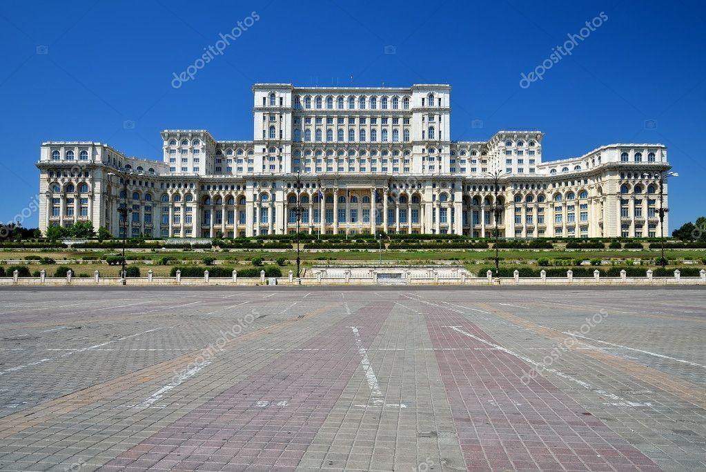 Palazzo del parlamento bucarest romania foto stock for Foto del parlamento