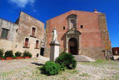 Saint Giuliano church in Erice, Sicily