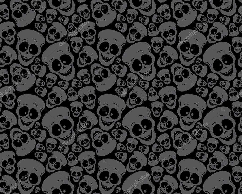 Skull Pattern Wallpaper Wallpaper Pattern Skulls Stock