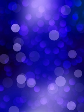 Blue Festive Christmas elegant abstract background