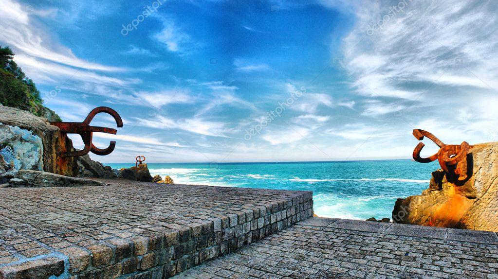 San Sebastian. Peine del Viento XV (Wind Comb)