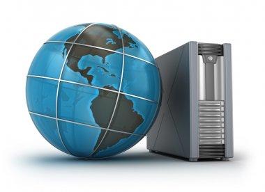 Internet Server Case on white