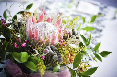 African Protea bouquet