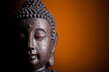 Buddha Kopf Religion meditation mönch feng shui skulptur