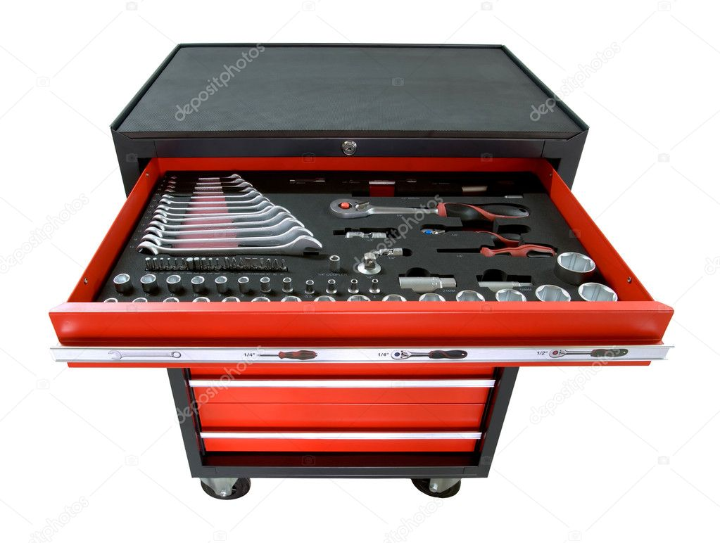 Toolbox on wheels