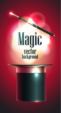 Magic vector background