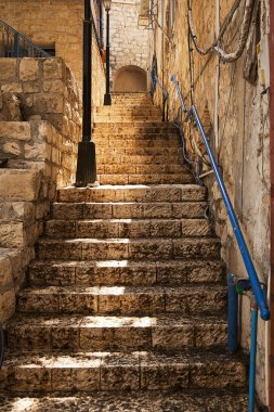 Stone Staircase In Zefat