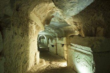 Stone Sarcophagi In Israel