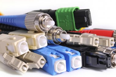 Fiber optic connectors colors