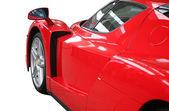Fotografie červené auto ferrari