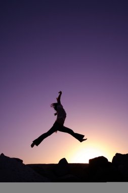 Happy Woman Jump!