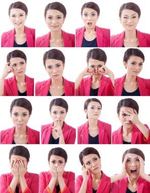 Various Human Face Expressions
