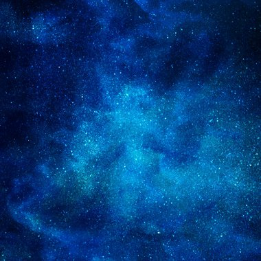 Background of space with stars