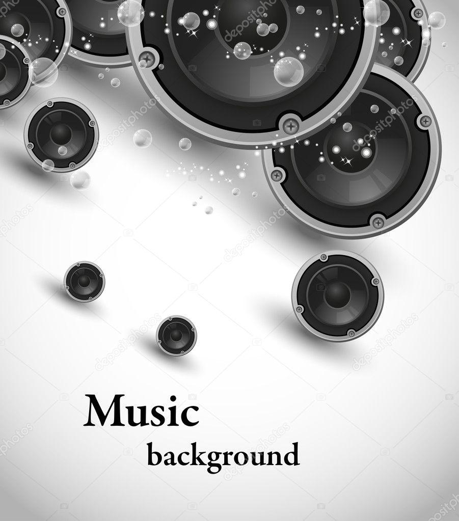 speakers music design — stock vector © vectorguru #7716900