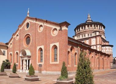 Santa Maria delle Grazie in Milan (Italy)