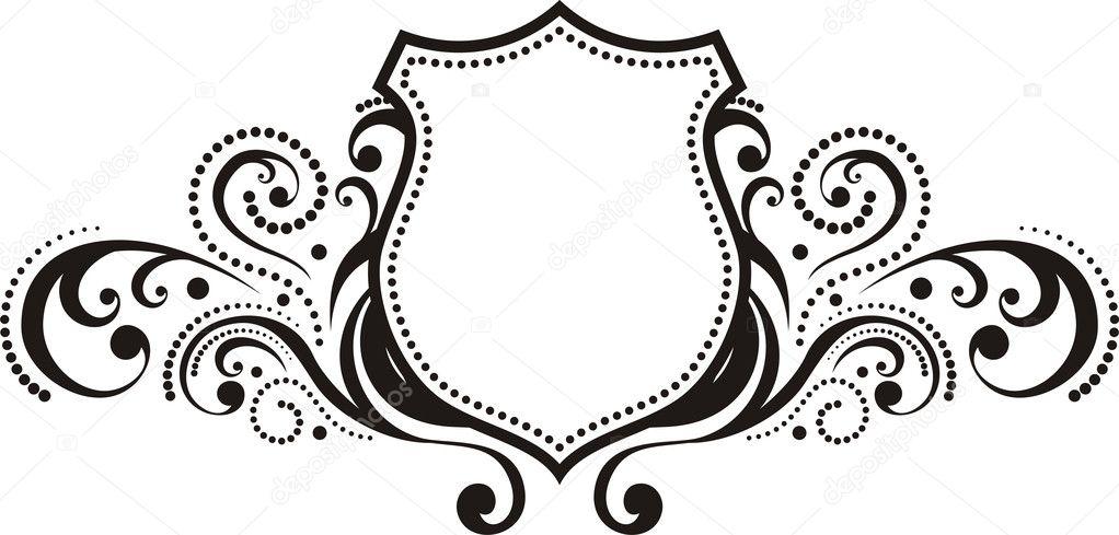 crest with vintage style design elements use for logo frame rh depositphotos com vector christmas ornament vector create