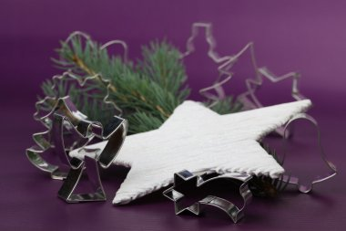 Cookie cutters with Chrsitmas motives