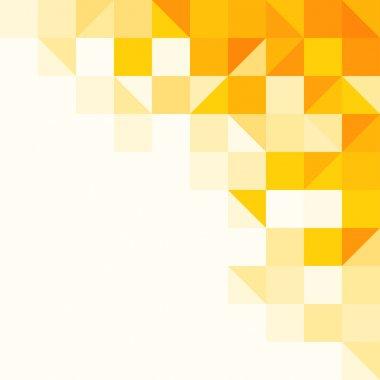 """Картина, постер, плакат, фотообои """"желтый абстрактный шаблон """", артикул 7412679"""