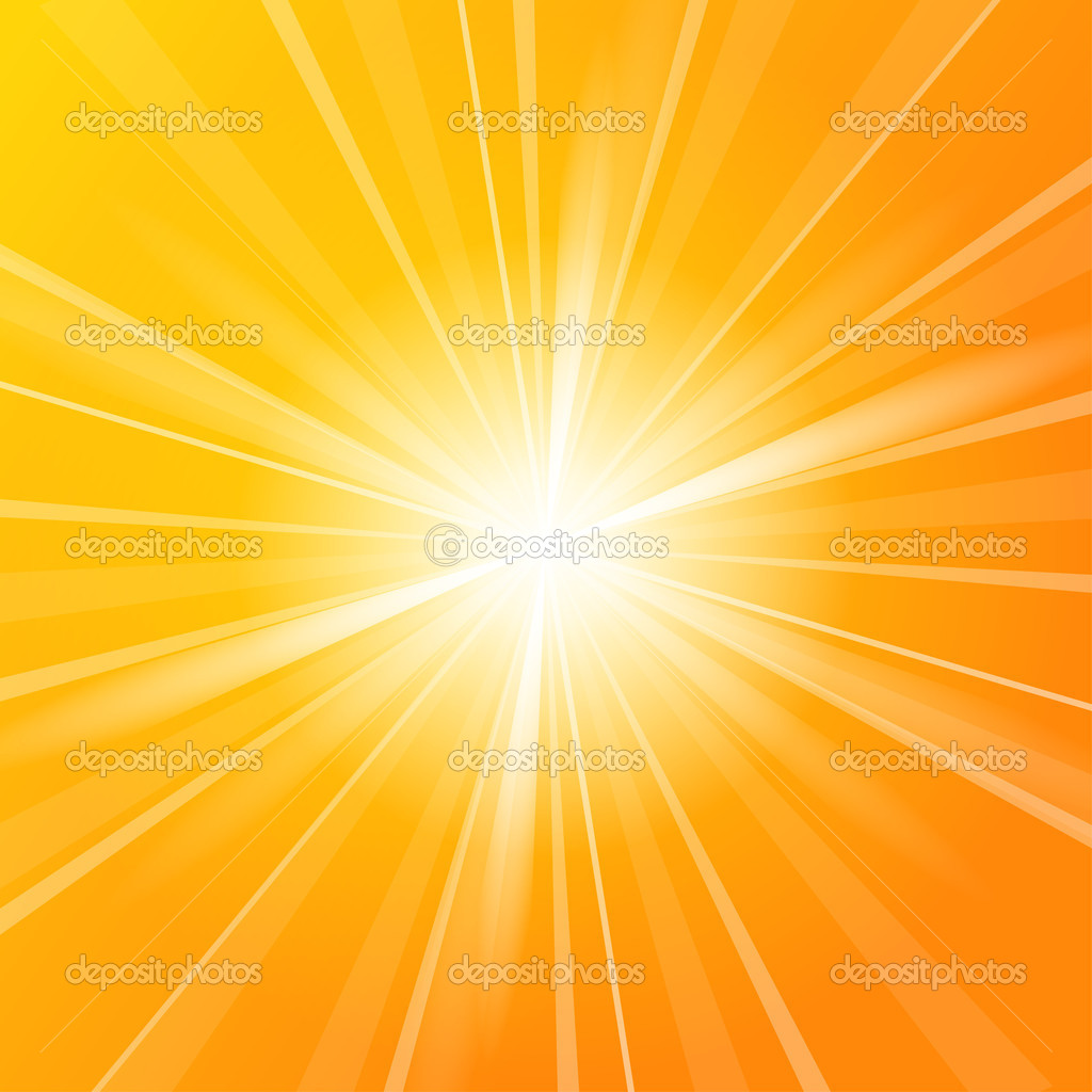 Sunshine vector background