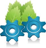 Zelená energie symbol