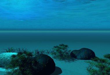Undersea background