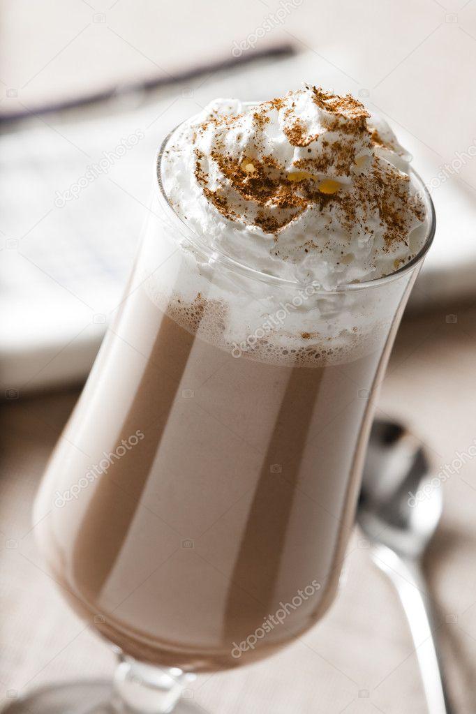 Кофе со взбитыми сливками сканворд