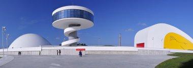Oscar Niemeyer international cultural centre.