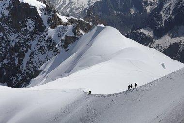 Mont Blanc climber
