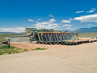 Earthship under construction
