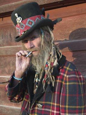 Strange smoker